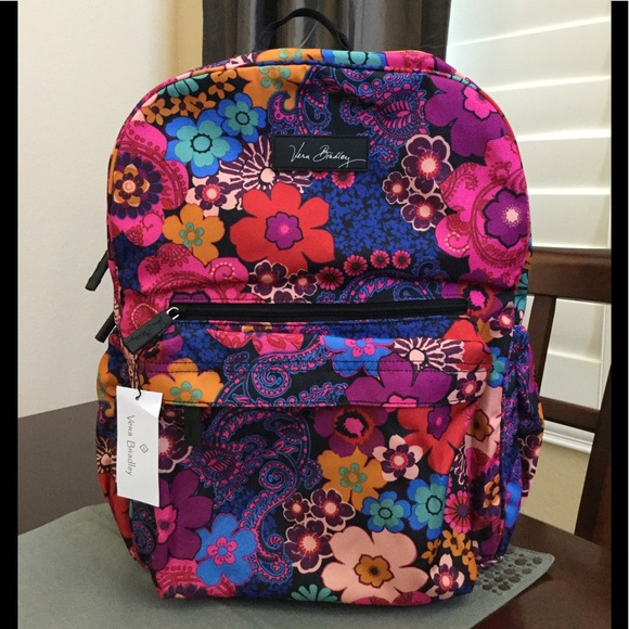 7aea8eb39536 NWT VERA BRADLEY LIGHTEN UP GRANDE BACKPACK
